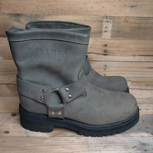 Durango Harness Leather Motorcycle Boots Green